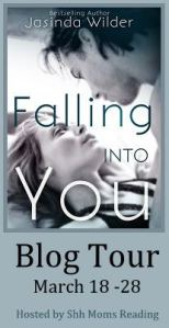 falling into you blog tour button