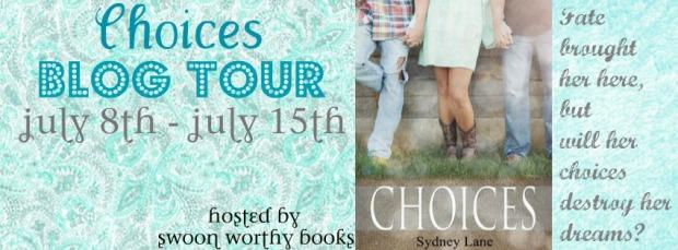 Choices Blog Tour Banner