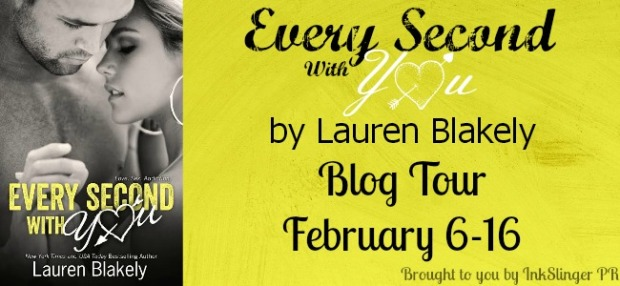Every Secod With You Blog Tour Banner